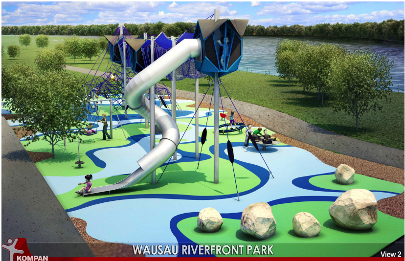 wausau riverfront park